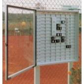 TABLEAU DE RESERVATION AVEC VITRINE