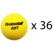 SACHET DE 36 BALLES BABOLAT SOFT FOAM