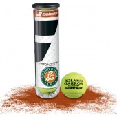 TUBE DE 4 BALLES BABOLAT FRENCH OPEN ALL COURT