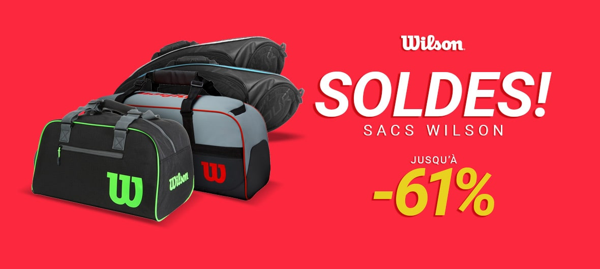 SOLDES! SACS WILSON