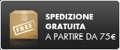 Spedizione gratuita a partire da 75 euros