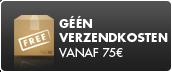géén verzendkosten vanaf  75 euros